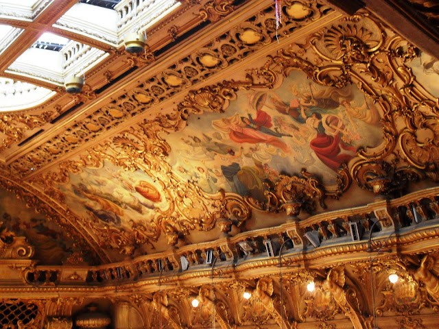 Blackpool Tower Ballroom ceiling
