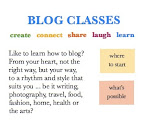 Come to Blog classes