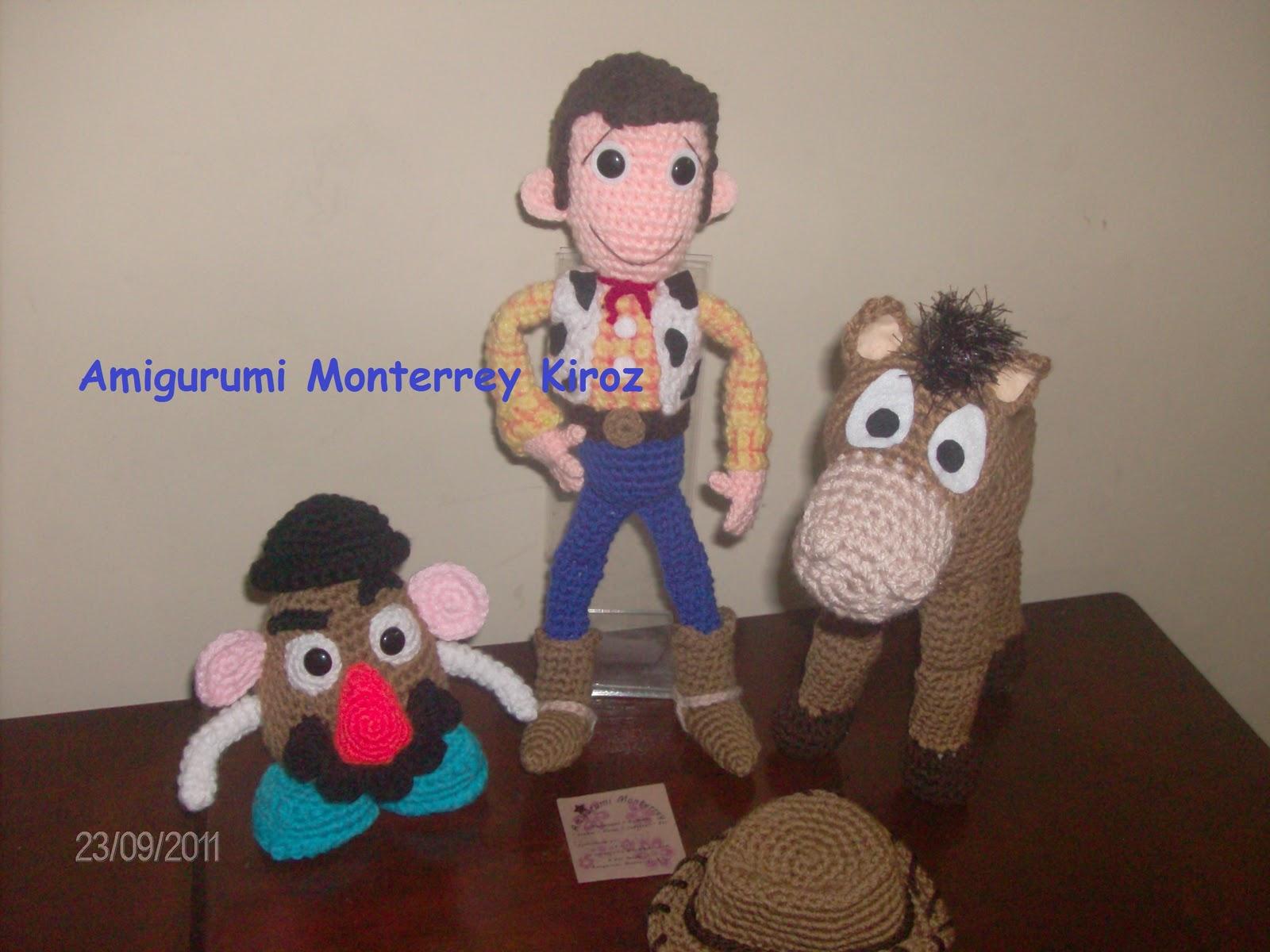 Amigurumi Toy Story : Amigurumi Monterrey: Toy Story Crochet