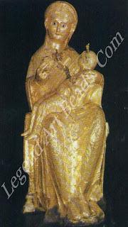 Golden Madonna. Eleventh century. Cathedral Treasury, Essen.