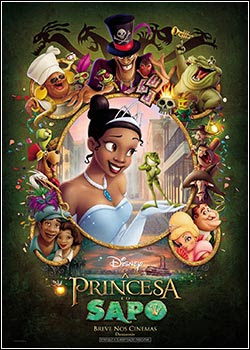 Download - A Princesa e o Sapo DVDRip - AVI - Dual Áudio