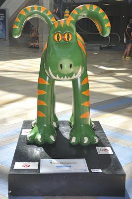 Gromitasaurus Gromit (front view)
