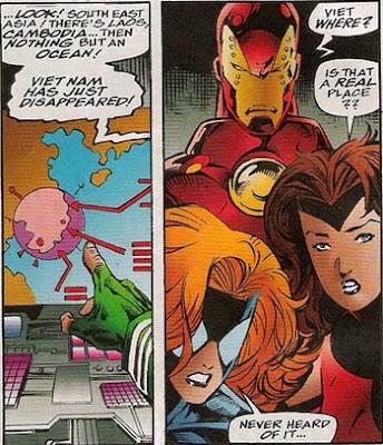 Force Works 17 Vietnam Viet Nam Scarlet Witch Spider-Woman Iron Man