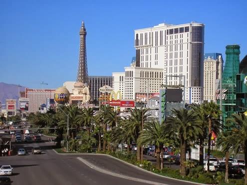 Las Vegas naar San Francisco