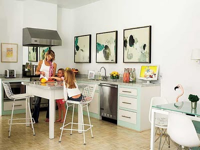 I Could Do The Obvious And Find Something Artistic To Place There As These Kitchens Have Done