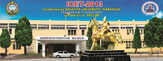 ICET 2013 Hall Ticket downloads