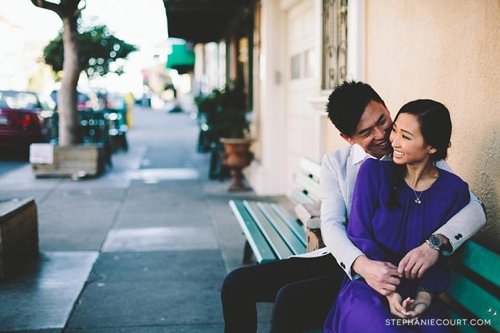 """potrero hill engagement photos"""