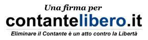 FIRMA PER IL CONTANTE LIBERO!