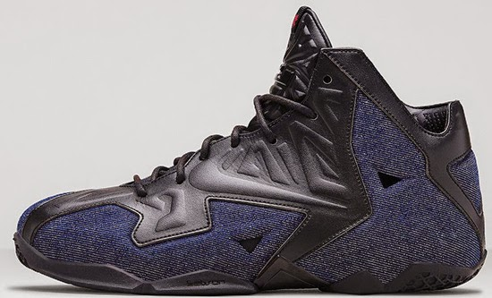 Nike LeBron 11 Dark Blue Navy Volt Black
