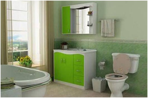 Small Bathroom Colour Choice