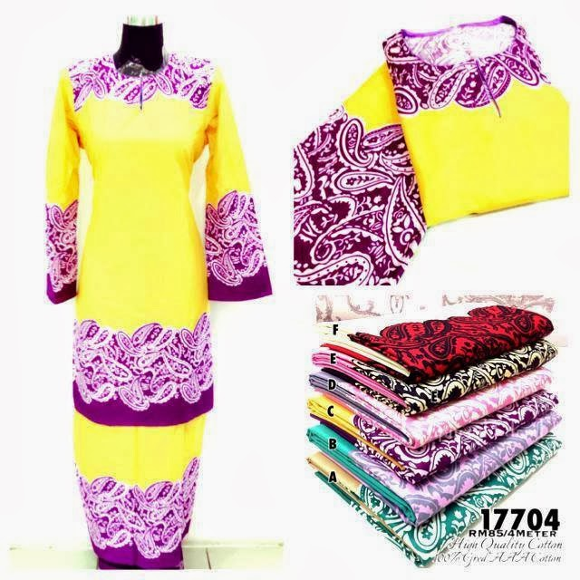 KURUNG PAISLEY & KURUNG TRIBAL (READY MADE ))
