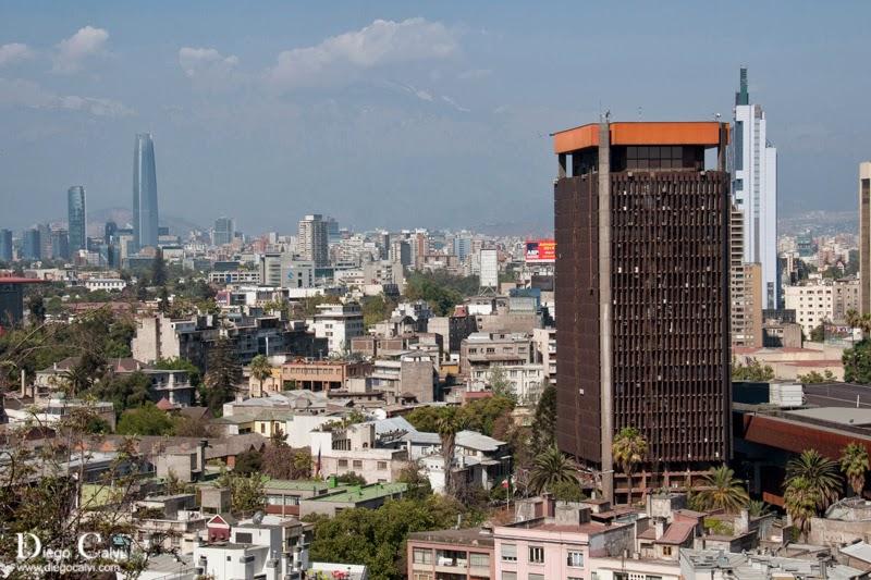 Paseo por las calles de santiago de chile chile apuntes for Calles de santiago de chile