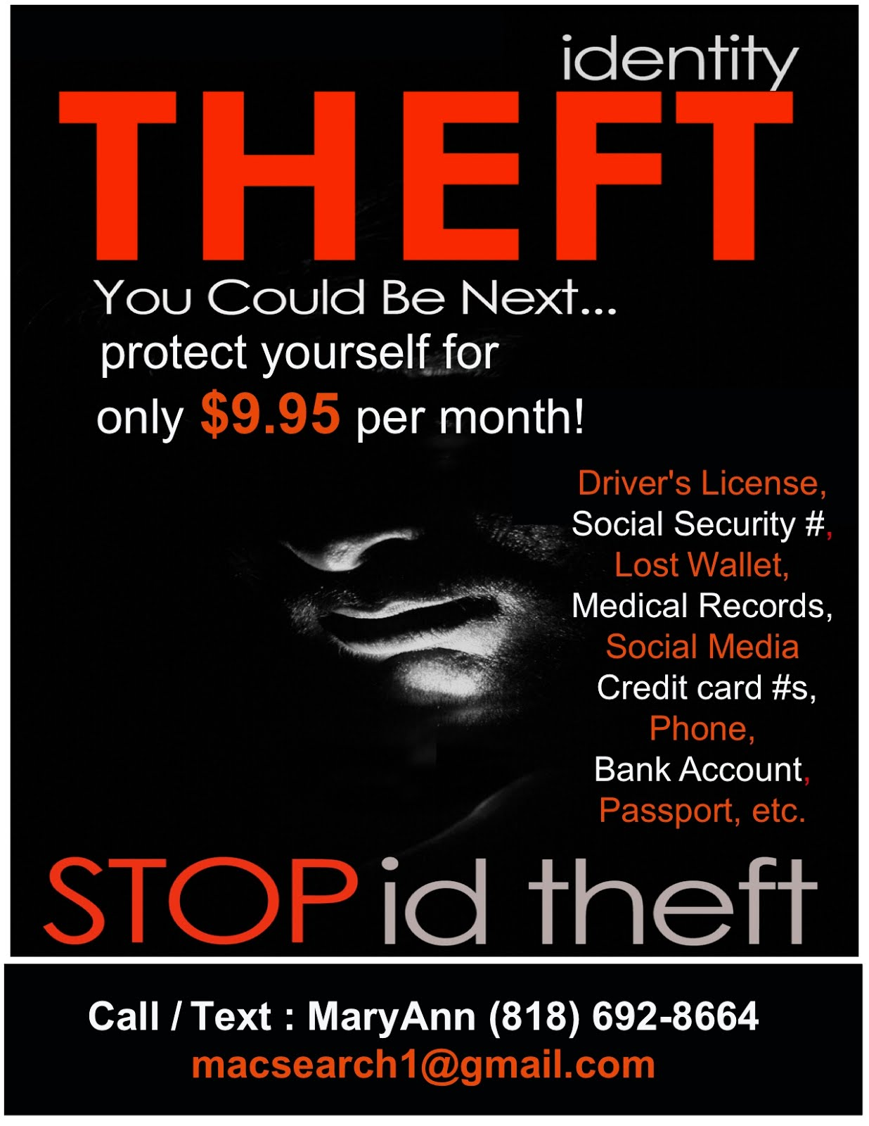 Identity theft is on the rise!