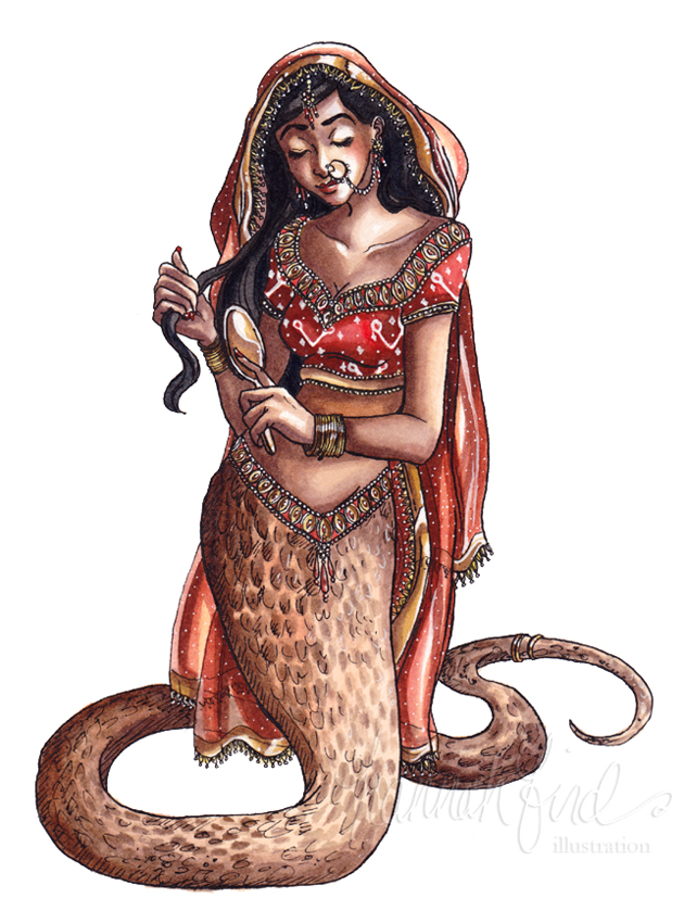 30 Day Monster Girl Challenge  Day 4   Naga