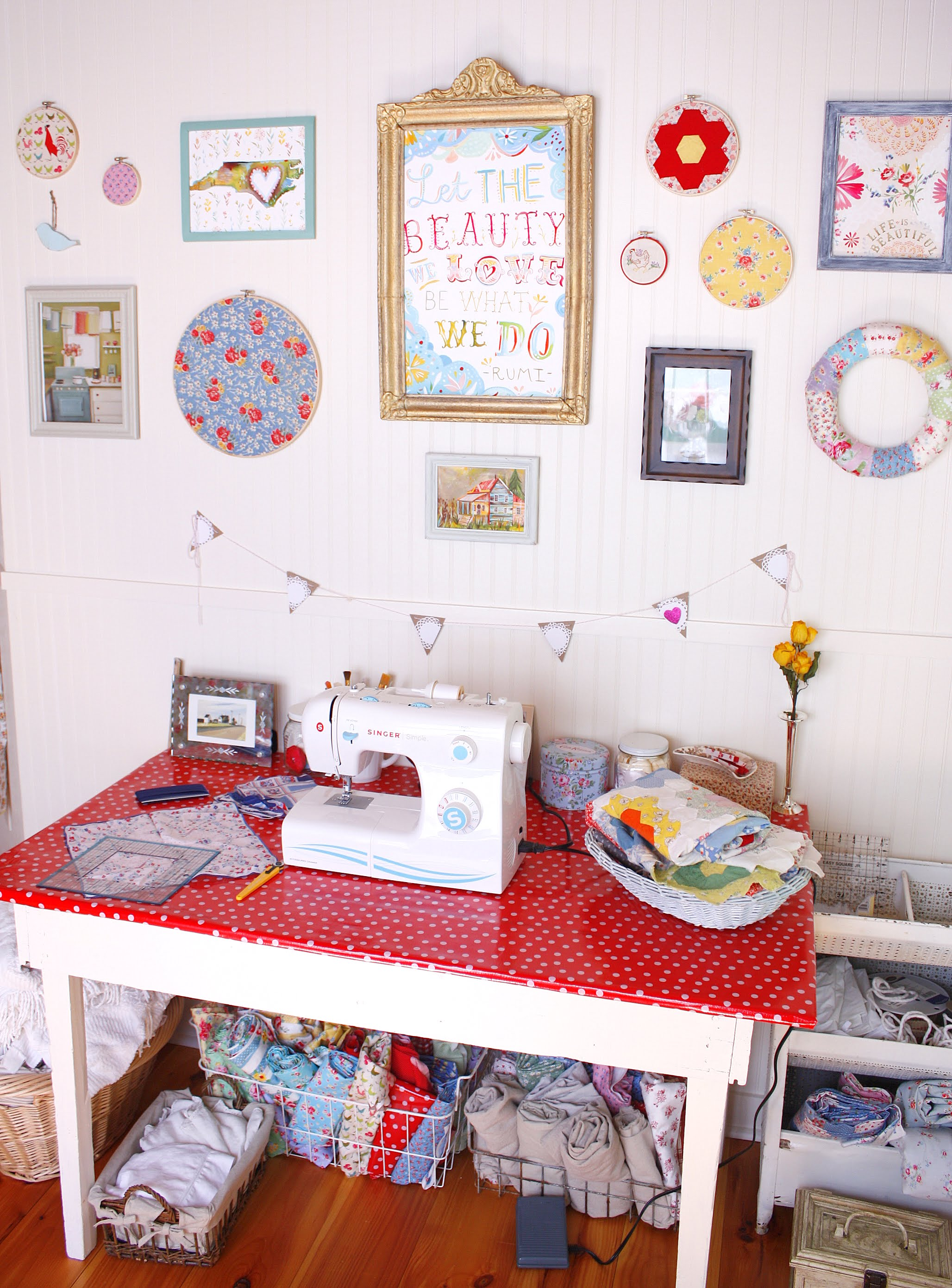 Carolina Country Living: Craft Room Reveal!