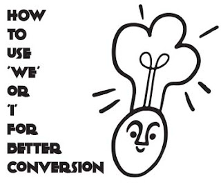 How to Use 'We' or 'I' for Better Conversion