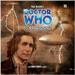 Storm Warning cover and Big Finish link
