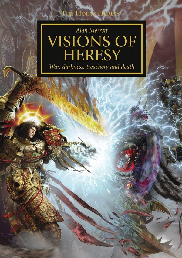 Horus Heresy Book Cover Art : Rites of battle heresy in the library visions