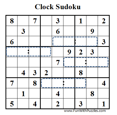 Clock Sudoku (Daily Sudoku League #41)