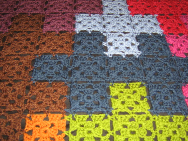Jigsaw Blanket Knitting Pattern : BLOG OF A CRAZY CROCHETING FOOL: Puzzles anyone???