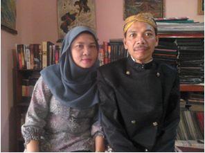 Foto Sutardi MS Dihardjo & Wahyuni (istri) - Exnim