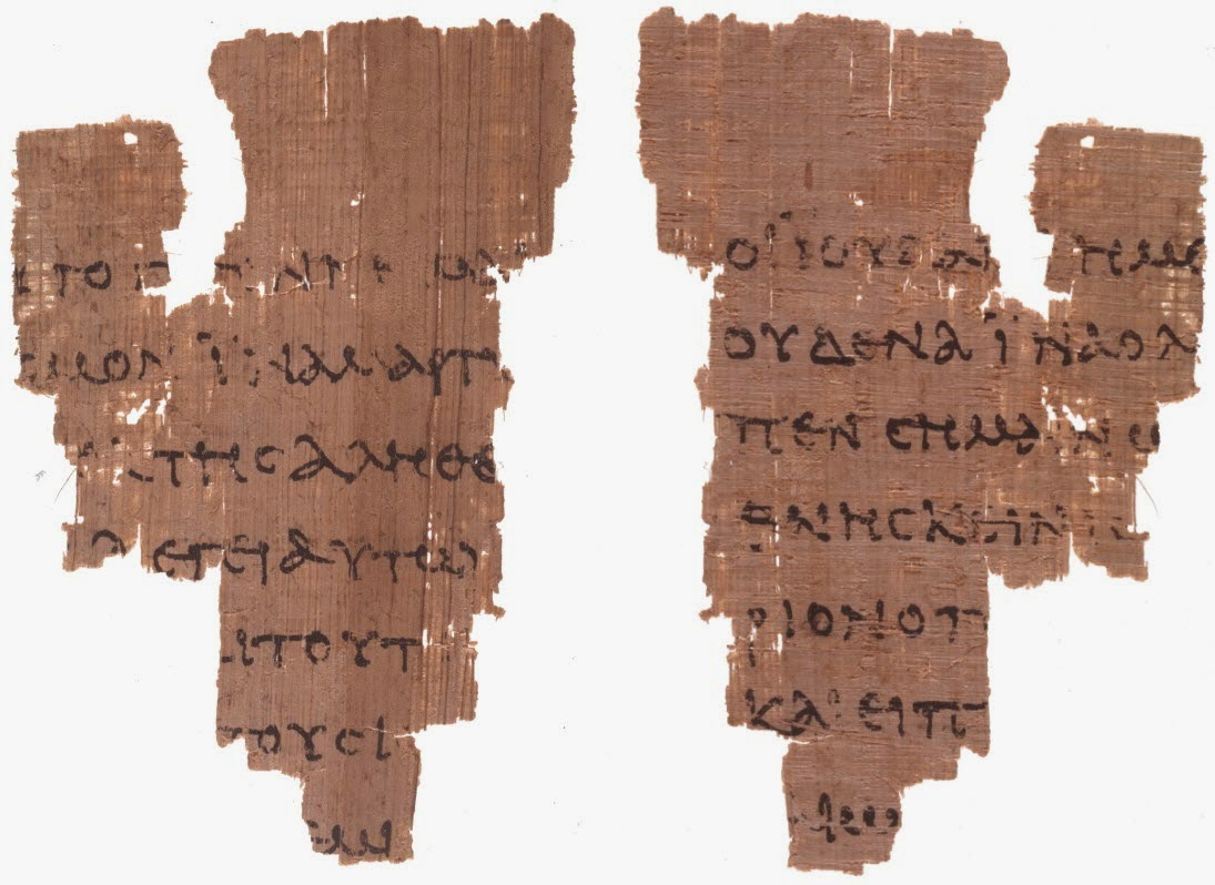 dating p52 52 rests both upon its proposed early dating and upon its geographic dispersal from the presumed site of authorship, traditionally thought to have been ephesus as the fragment is removed from the autograph by at least one step of transmission, the date of authorship for the gospel of john must be at.