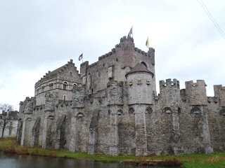 Castle of the Counts aka Gravensteen in Ghent, Belgium