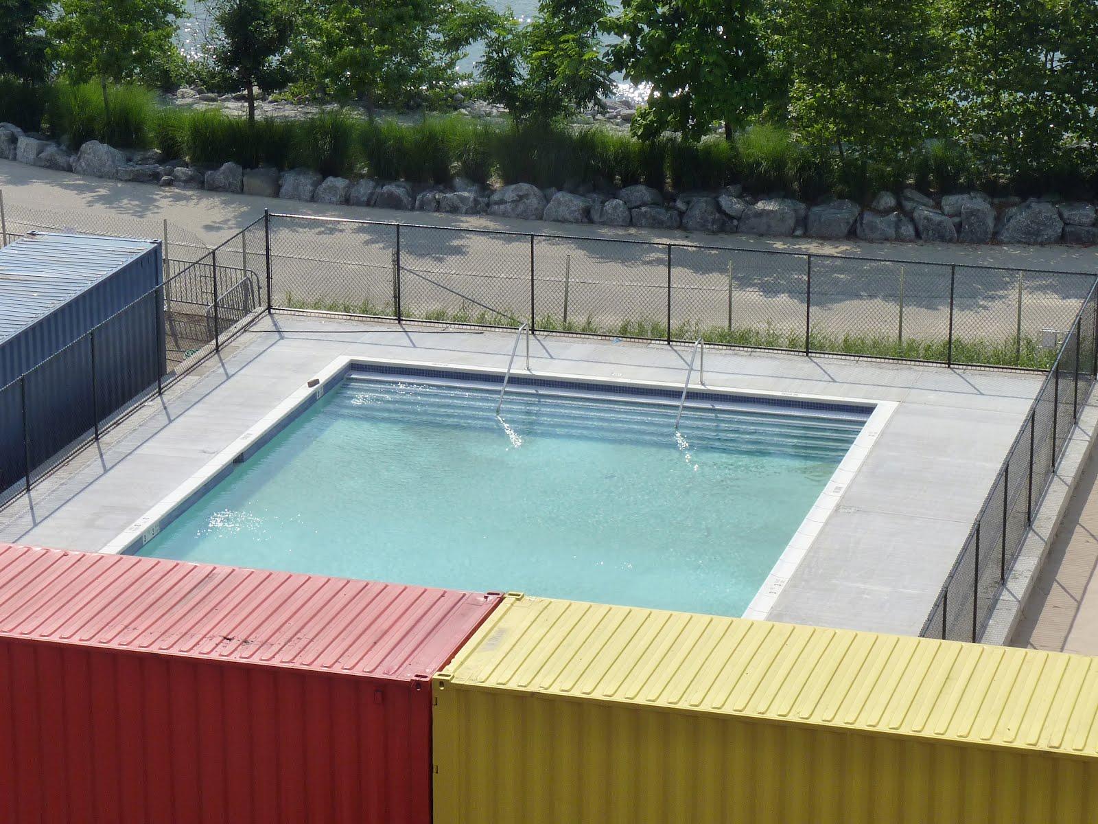 Mcbrooklyn Pop Up Pool At Brooklyn Bridge Park Opening Friday