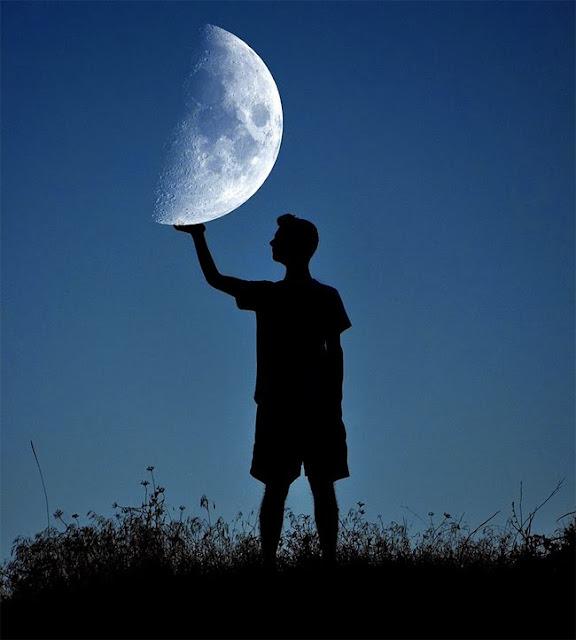 Jugando con la luna 16