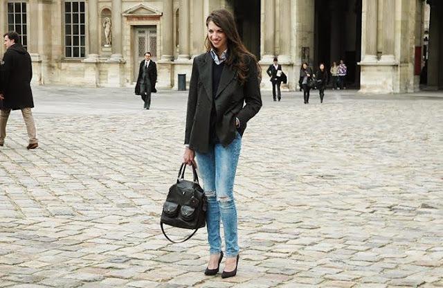 blazer street style