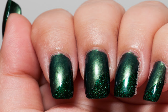Ga-De Green Sapphire Picture Polish Kryptonite