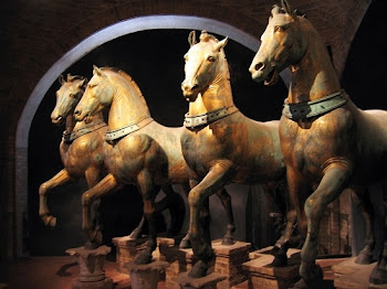 Golden Horses of St Marks