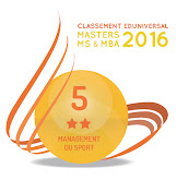 5ème au classement SMBG 2016