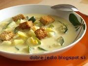 Cuketovo-zemiaková polievka - recept