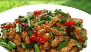 Resep Makanan Tumis Tempe Kacang Panjang