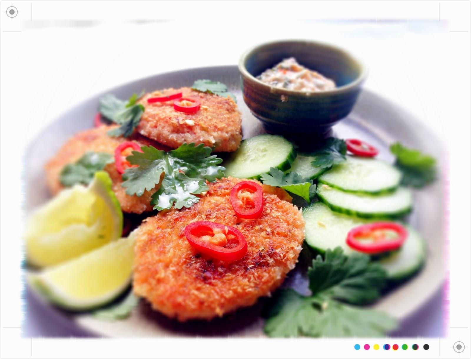 Toast thai salmon fish cakes img5697g forumfinder Images