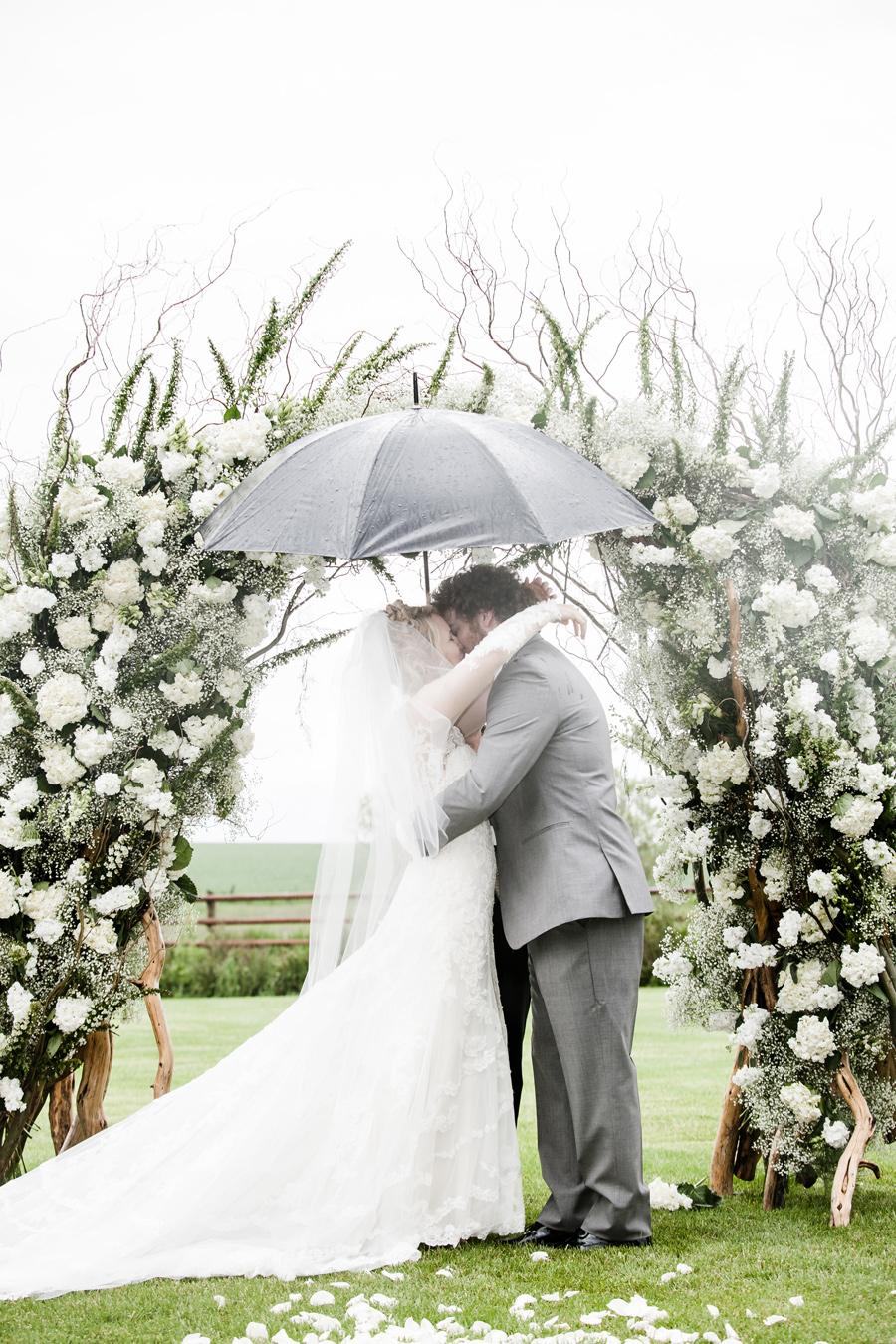 wedding arch by Katalin Green / photography Braden Tenney