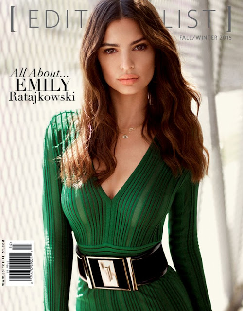 Actress, Model @ Emily Ratajkowski - The Editorialist USA, Fall 2015