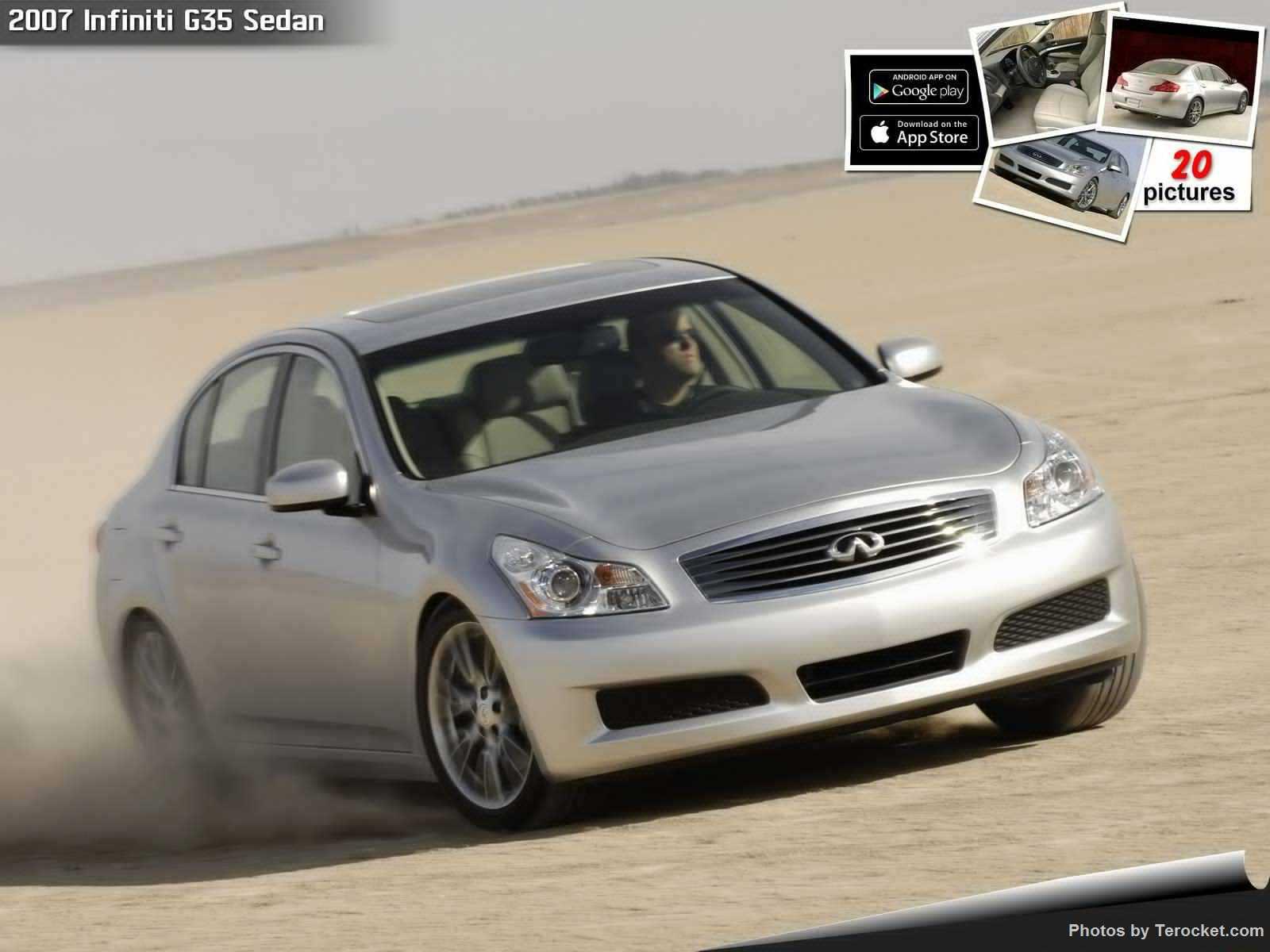 Hình ảnh xe ô tô Infiniti G35 Sedan 2007 & nội ngoại thất