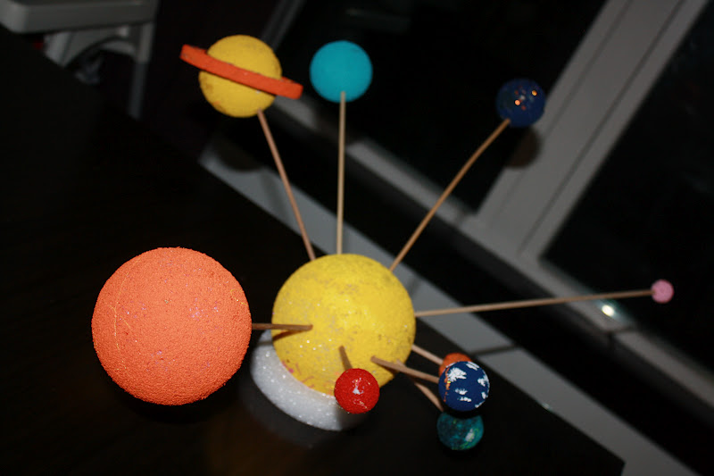 solar system project 1st grade - photo #14