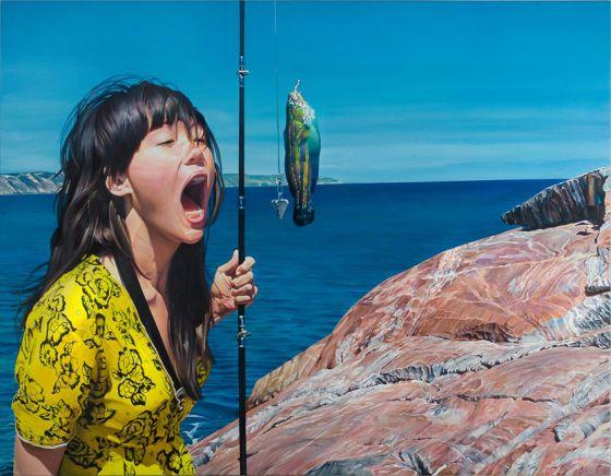 diego gravinese pinturas hiper realistas surreais