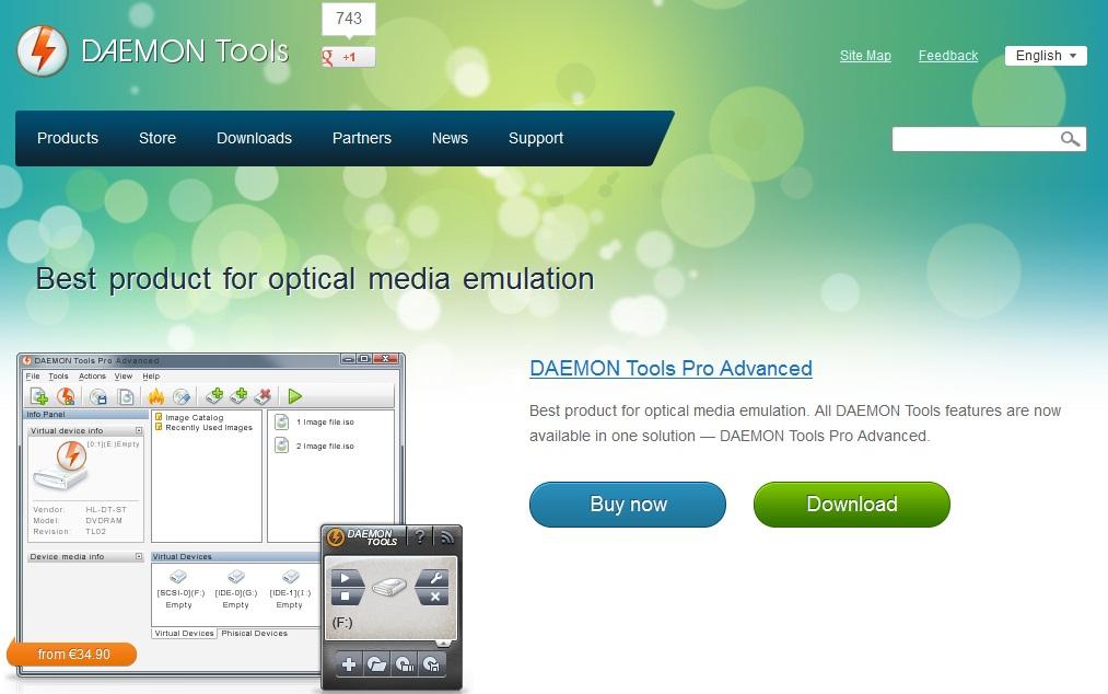 daemon tools lite 4.46.1 download