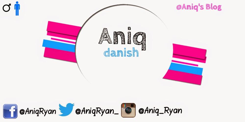 Aniq's Blog