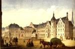 Jakob Buhl: Marktplatz von Düsseldorf. Um 1850
