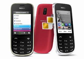 harga handphone Nokia Asha 202