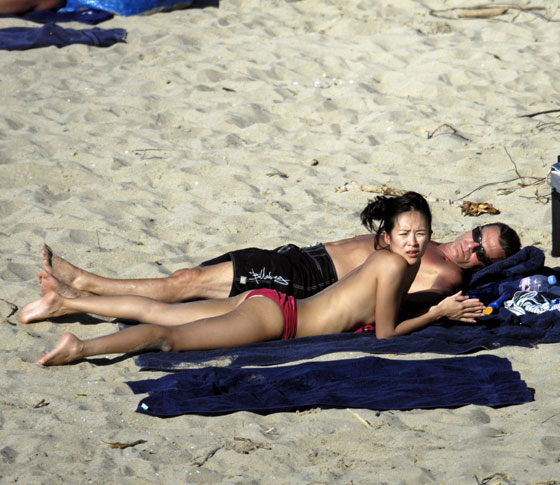 Zhang Ziyi Nude On Beach