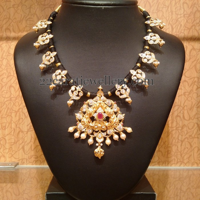 Traditional CZ Necklace by Naj Jewellers