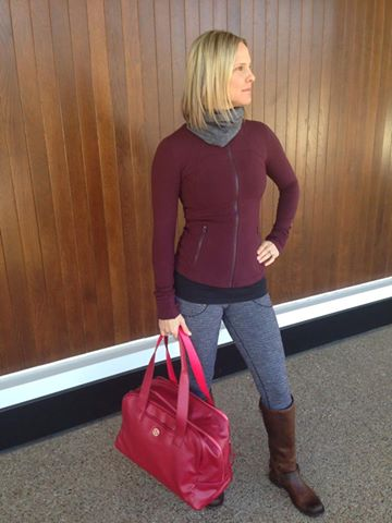 lululemon bordeaux drama define jacket