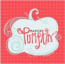 NEW!  Paper Pumpkin