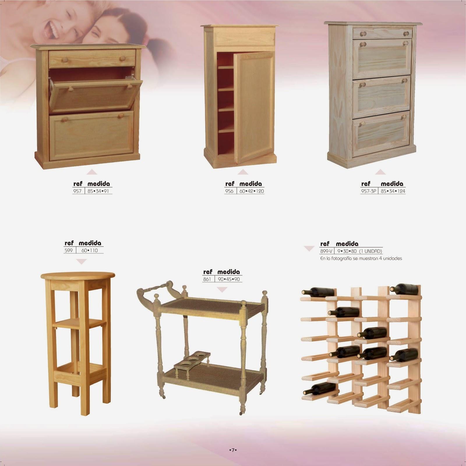 Catalogo Muebles En Crudo Muebles Con Los Que Redecorar Tu Hogar  # Muebles Sampuesanos